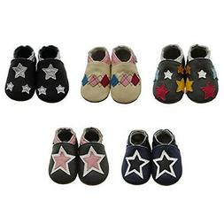 - Mejale Leather Baby Shoes First-Step