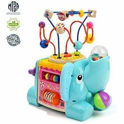 Activity Cube Toys - Play Centers Educational Baby With Bead