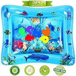 Activity Play Centers NASHRIO Tummy Time Water Mat, Baby Toy