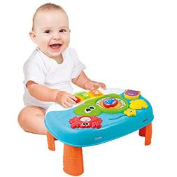 Activity Table for 1 Year Old and Up. 2-in-1 Baby Activity C