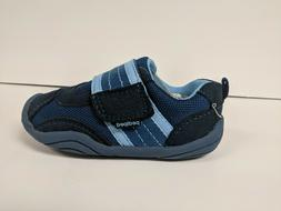 Pediped Adrian First Walker Shoes, Navy Sky, Toddlers 7 M