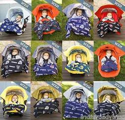 All NFL Team Available Whole Caboodle Car Seat Canopy Baby I