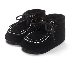 Autumn Winter Suede Leather Baby Moccasins Shoes Infant Anti