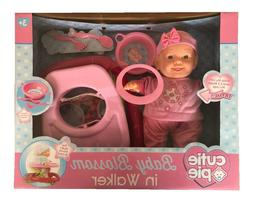 Cutie Pie Baby Blossom Walker Baby Doll Playset With Accesso