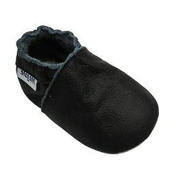 Mejale Baby Boy Girl Shoes Soft Soled Leather Moccasins Anti