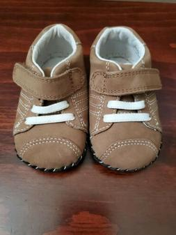 Baby Boy Pediped Sneakers Brown sizes 0 - 6 & 6 - 12 months/