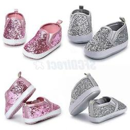 Baby Boys Girls Low-tops Sneakers Toddler Soft First Walkers
