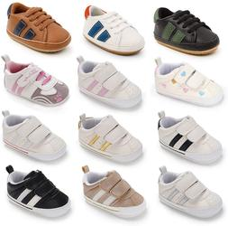 Baby Boys Girls Shoes Infant Sneakers Non Slip Rubber Sole T