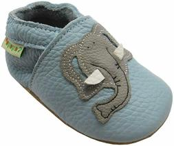 Sayoyo Baby Cute Elephant Soft Sole Leather Infant And Toddl