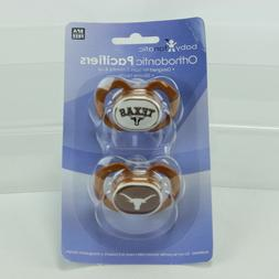 Baby Fanatic 2 Piece Pacifier Set Texas A&M Aggies 2-Pack