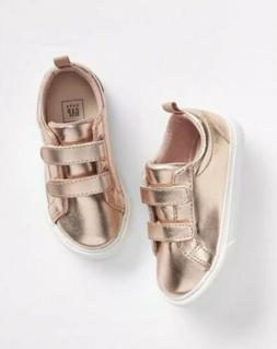 Gap Baby Girl Toddler Classic Strap Sneakers Shoes Rose Gold