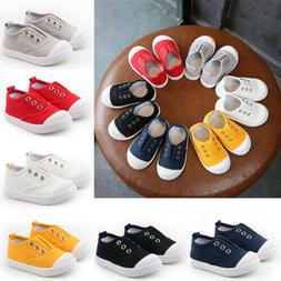 Baby Girls Boys Anti-Slip Shoes Casual Sneakers Toddler Soft