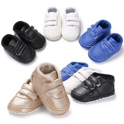 Baby Girls Boys Shoes Infant Toddler Classic First Walkers K