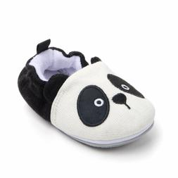 Lidiano Baby Non Slip Rubber Sole Slip On Knitiing Slippers