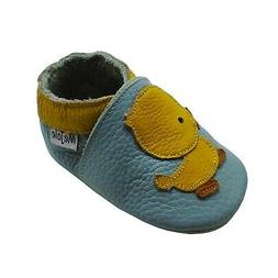 Mejale Baby Shoes Soft Sole Leather Crawling Moccasins Carto
