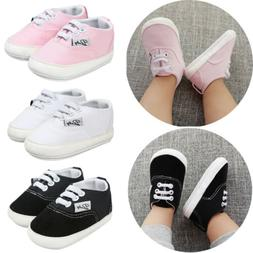 Znu Baby Shoes Toddler Infants Canvas Girl Boys Lace-up Snea