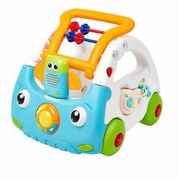 Baby Sit to Stand Learning Walker Push Car Activity Walker w