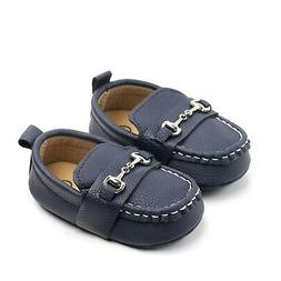 Lidiano Baby Soft Sole Toddler Loafers Boat Shoes Crib Shoes