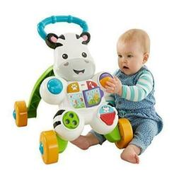 Baby Toys New Fisher-Price Learn With Me Zebra Walker Durabl