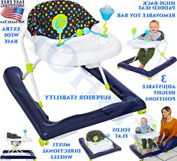 BABY WALKERS FOR GIRLS BOYS ACTIVITY CENTER WALKER TRAY WHEE