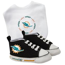 Baby Fanatic Bib with Pre-Walkers, Miami Dolphins