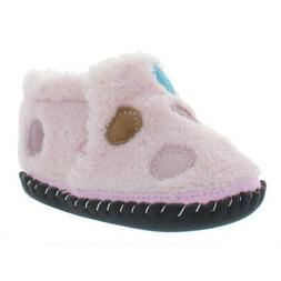 Pediped Book Polka Infant Terry Cloth Walker Crib Shoes Boot