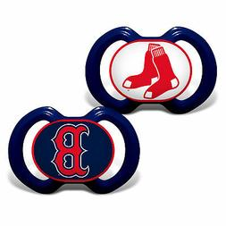 Boston Red Sox Pacifiers 2 Pack Set Infant Baby Fanatic BPA