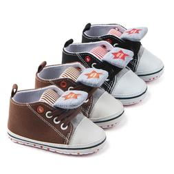 Canvas Baby Sneaker Sport Shoes For Girls Boys Newborn Shoes