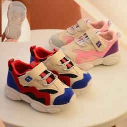 Cute Baby First Walkers Toddler Sports Shoes Breathable Casu