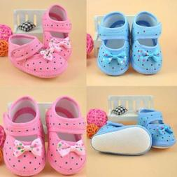 Cute Toddler Baby Girls First Walker Shoes Bowknot Boots Sho