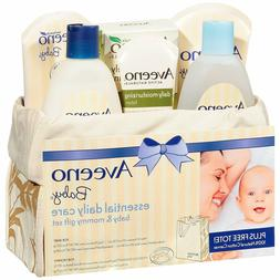 Daily Care Baby Mommy Gift Set featuring a Skin Care and Bat