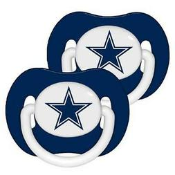 Dallas Cowboys Pacifiers 2 Pack Set Infant Baby Fanatic BPA