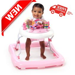Electronic Baby Walker With Activity Station Pink Bright Sta