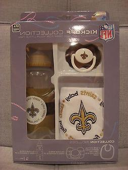 BABY FANATIC NFL KICKOFF COLLECTION BIB, PACIFIER, and BOTTL