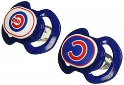 Baby Fanatic Gen. 3000 Pacifier - Chicago Cubs 2-Pack