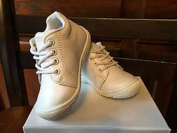 Genuine Leather Baby Boy Girls Shoes White US Size 3 Compare