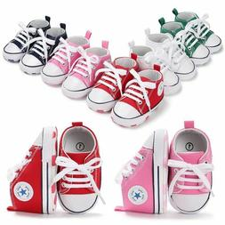 HOT Canvas Baby Sneaker Sport Shoes For Girls Boys Newborn S