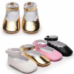 Infant Baby Girls Floral Shoes Sole Sneakers Sandals First W