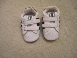 LIVEBOX Infant Boy's Shoes-White Sneakers~Size 3~ New