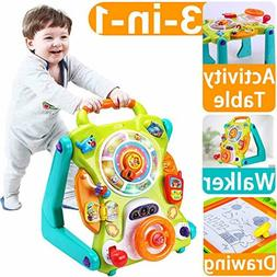 iPlay, iLearn Baby Sit to Stand Walkers Toys, Kids Activity