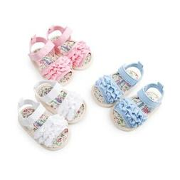 Kids Baby Girl Soft Sole Shoes Anti-slip Sandals Toddler Pre