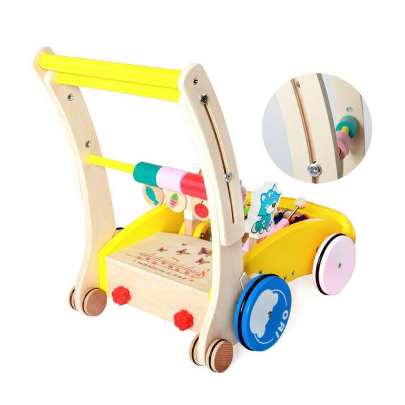 4 Baby Walker Toddler Trolley Toy