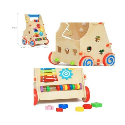 Toddler with Activity Toys Center