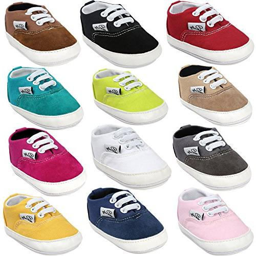 baby boys girls canvas toddler sneaker anti
