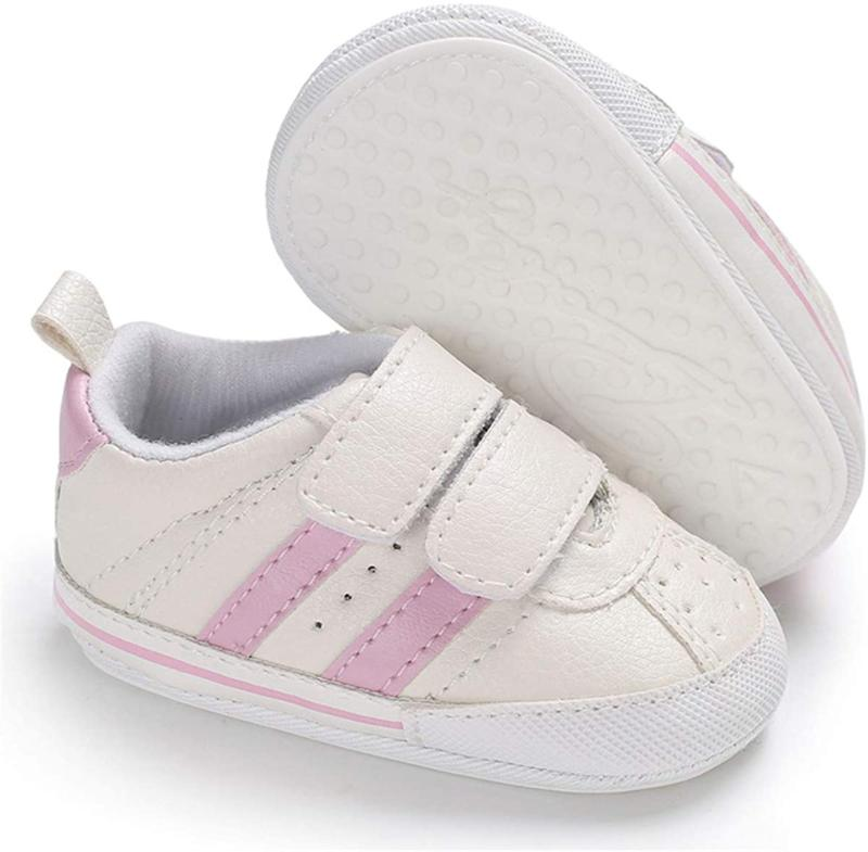 Baby Infant Sneakers Rubber Sole Toddler First Walker