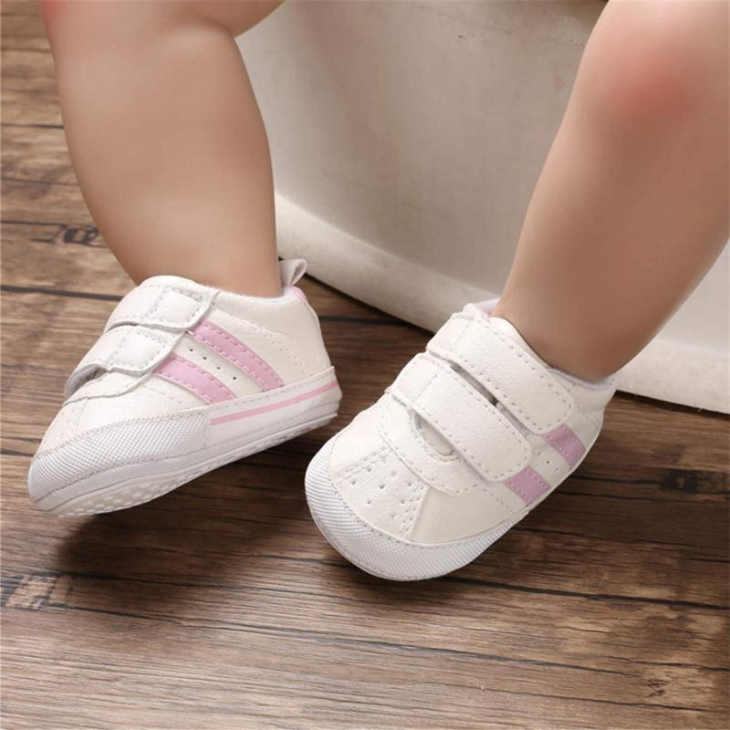 Baby Infant Non Slip Rubber Sole Toddler First Walker