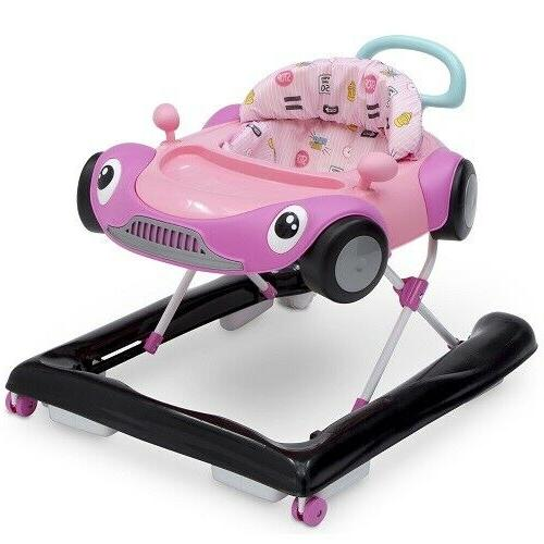 Baby Walker Activity Toy Toddler Pink