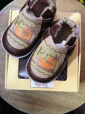 baby first walker stride rite shoes surfer
