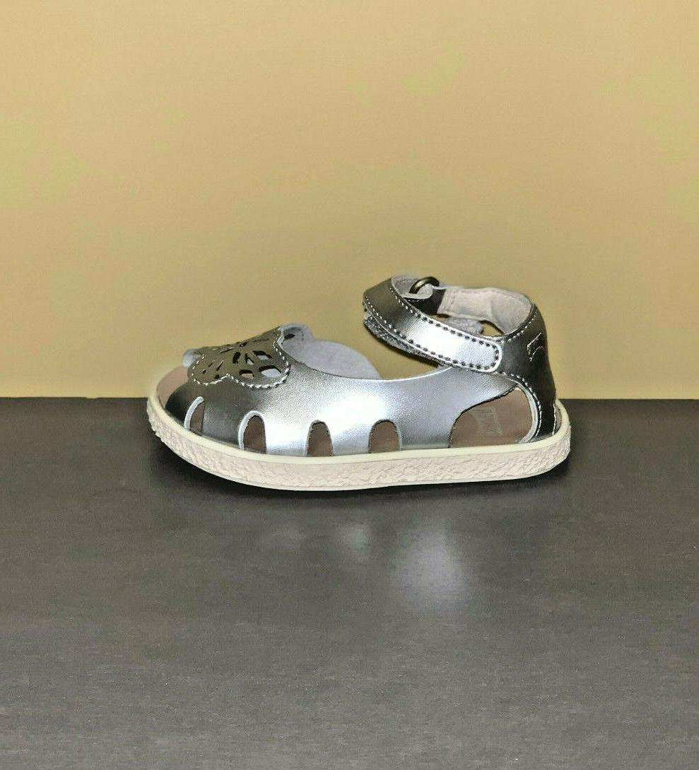 Baby Camper Twins Open Leather Sandals First Shoes