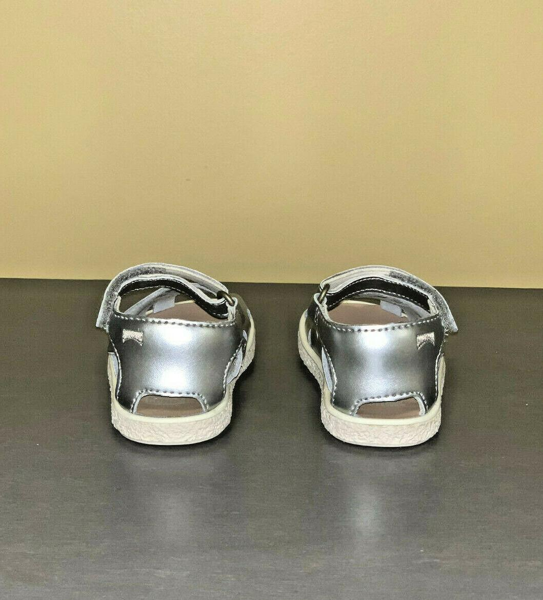 Baby Girl Shoes Camper Twins Open Leather Shoes